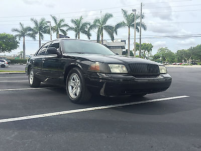 Ford : Crown Victoria Lx 2002 ford crown victoria lx v 8 fully loaded rare center console shifter gt ss