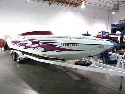 2003 Kachina 26ft Force Open Bow Powerboat - 1-Owner AZ Boat -496ci -Lake Ready!