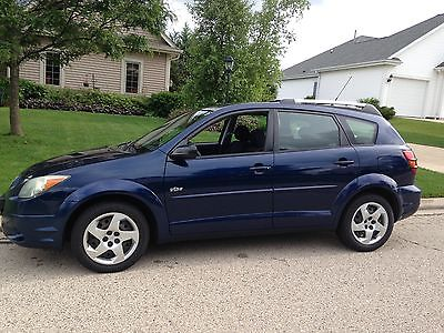 Pontiac : Vibe Base Wagon 4-Door 2004 blue 4 d hatch pontiac vibe
