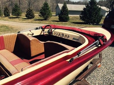 1975 Sanger Jet Boat Bubbledeck with Tandem Trailer