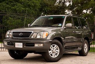 Lexus : LX Base Sport Utility 4-Door 2000 lexus lx 470 4 wd 1 owner very clean suv