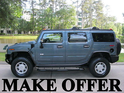 Hummer : H2 -Clean CarFax Certified - Only 42,000 Miles - Mint Super Clean - Garage Kept -   Well Maintained - Only 42,000 Miles -  Make offer