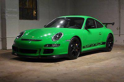 Porsche : Other 2007 gt 3 rs 4 k miles zero over revs 1 of 25 in green