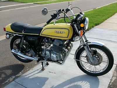 Honda : CB 1976 honda cb 750 f restored to sulfur yellow very nice motorcycle