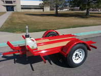 3 rail motorcycle trailer NEW