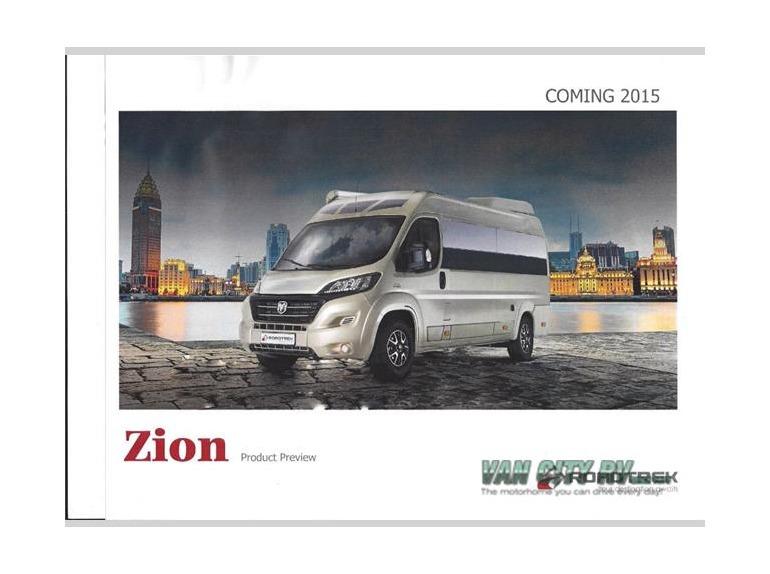2015 Roadtrek Zion Zion