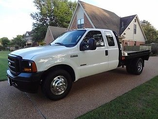 Ford : F-350 XL DRW FLATBED 1 owner nonsmoker supercab xl dually flatbed powerstroke diesel