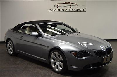 BMW : 6-Series 650i Convertible SPORT & COLD WEATHER PKGS, PEARL LEATHER, SAT RADIO, NAV, BLUETOOTH. TRADES?