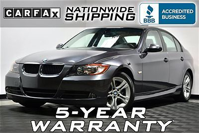 BMW : 3-Series 328i Loaded Premium Nationwide Shipping - 5 Year Warranty Leather Sunroof Low Miles