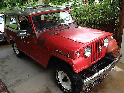Jeep : Commando Basic 1967 jeepster commando