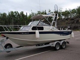 2006 Starcraft Islander 221 22.5ft Fishing Power Boat, 617 Hours, Trailer!