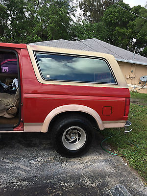 Ford : Bronco Eddie Bauer special edition 1989 full size ford bronco eddie bauer in excellent condition