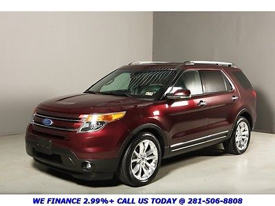 Ford : Explorer 2011 LIMITED NAV LEATHER REARCAM 7PASS XENONS 2011 explorer limited nav leather rearcam 7 pass xenons 3 row coolseats clean