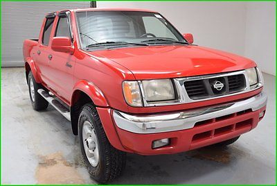 Nissan : Frontier SE V6 4x4 Crew cab Pickup Truck 4 Doors, 1 OWNER ! FINANCING AVAILABLE!! 200k Miles Used 2000 Nissan Frontier 4WD 3.3L V6 Truck