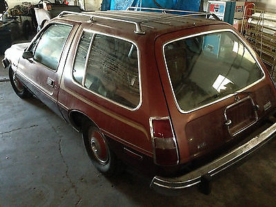 AMC : Other Wagon 1979 amc pacer wagon 2 dr 2 owner only 6 400 wayne s world car