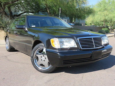 Mercedes-Benz : S-Class S320 1998 mercedes s 320 swb 3.2 l 5 speed xenons bose amg wheels toyos 22 mpg