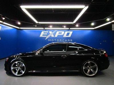 Audi : Other Base Coupe 2-Door Audi RS5 Quattro S Tronic Coupe Navigation Plus Driver Assist Titanium $80kMSRP!