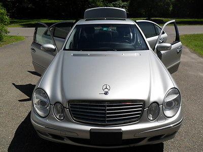 Mercedes-Benz : E-Class E-500 4Matic Sliver Mercedes-Benz E-500 4 Matic