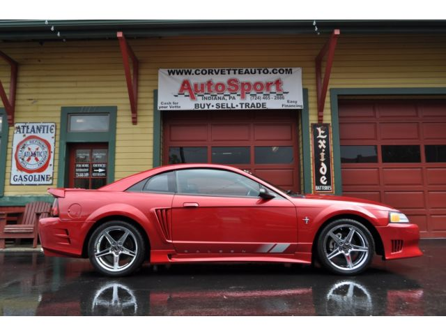 Ford : Mustang 2dr Cpe GT 2000 real s 281 mustang saleen super charged excellent shape only 34 k miles l k