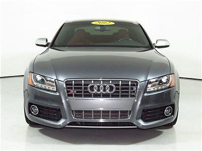 Audi : S5 2dr Coupe Automatic Prestige 2012 audi coupe automatic monsoon gray metallic