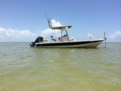 2008 Scout 240 Bayscout Bay Boat with Yamaha 250 4 Stroke One Owner
