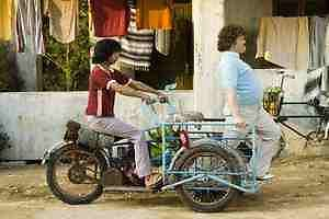 The Nacho Libre Trike * Motorized Cargo Trike *