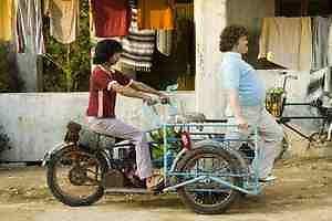 The Nacho Libre Trike * Motorized Cargo Trike *