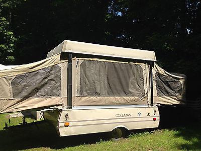 1985 Coleman Pop Up Camper - Sleeps 4-6 - Fair condition - Good starter pop-up!