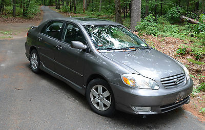 Toyota : Corolla S Sedan 4-Door 2003 toyota corolla s sedan 4 door 1.8 l