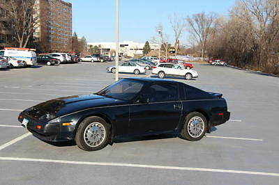 Nissan : 300ZX Turbo Coupe 2-Door 1986 midnight blue nissan 300 zx turbo with 99 000 miles