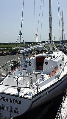 Sailboat Hunter 33 Cruiser, Raicing