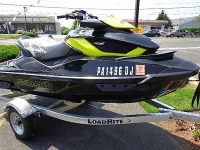 2012 Sea-Doo RXT-X aS 260 3-Seater Watercraft w/Adjustable Suspension
