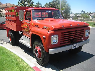 Ford : Other Pickups Standard cab 2 door 1972 ford f 750 stake bed super clean super nice