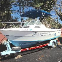1987 Aquasport Express Fisherman 222