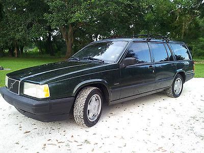 Volvo : 940 Wagon 1995 volvo 940 wagon automatic transmission low miles green w gray interior