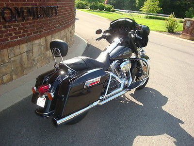 Harley-Davidson : Touring 2009 harley davidson ultra 1 owner black and like new