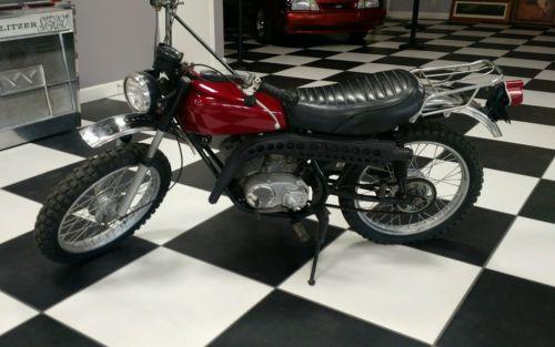 Kawasaki : Other 1971 kawasaki 100 motorcycle