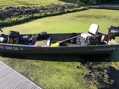 14 FT Basstracker Topper Jon Boat with tons of extras!!!