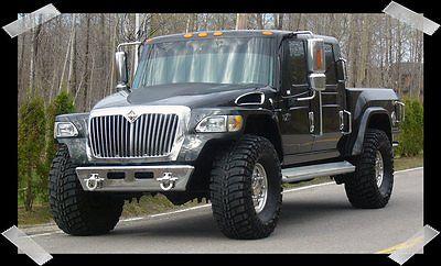 International Harvester : Other MXT - 4x4 RARE 2008 International MXT Truck Black
