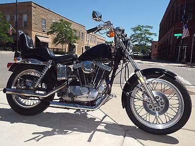 Harley-Davidson : Sportster 1978 harley davidson 75 th anniversary sportster motorcycle 1000 cc please look