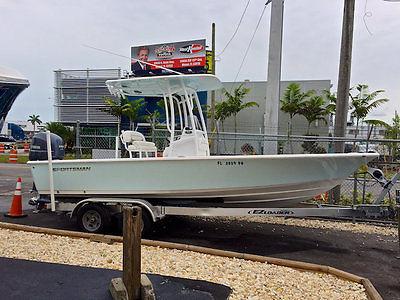 2014 Sportsman Master 227 Bay Boat with Yamaha Power & Garmin Electronics