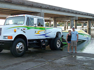 Ford : Other Pickups 4 door International 4900 Dt466 Conversion Truck CXT Styling