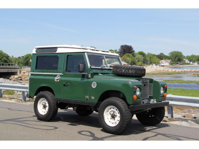Land Rover : Other SERIES IIa 1971 land rover series iia diesel conversion defender 90 upgrades the best