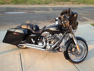 Home Rapture Vivid Black Saddlebag Lids W/ 6x9 Speaker For Harley Touring Electra Glide Street Glide 1994-2013 Rapid Heat Dissipation
