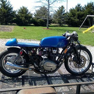 Yamaha : XS 1982 yamaha xs 650 cafe racer project