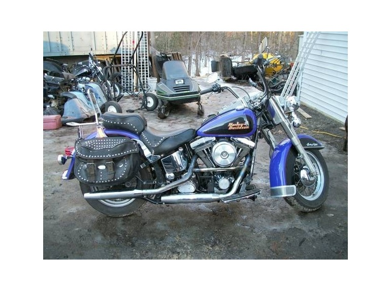 harley davidson softail motorcycles for sale in palmyra maine. Black Bedroom Furniture Sets. Home Design Ideas