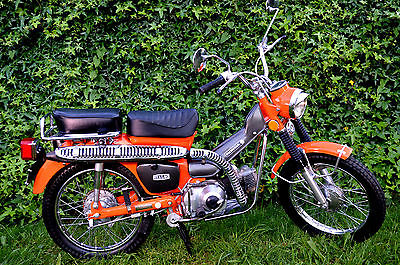 Honda : CT Partialy Restored 1973 Honda ct 90 street and trail 3 speed auto clutch