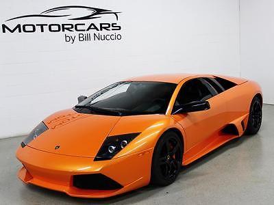 Lamborghini : Murcielago LP640 Coupe 2008 lamborghini murcielago lp 640 orange black 16 k miles hermera wheels