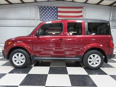 Honda : Element EX 2 owner automatic ex warranty financing low miles 27 mpg bargain rare loaded nice