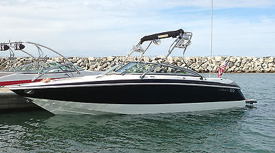Cobalt 240 Volvo 496 8.1L Wakeboard Tower 169hrs UnderwaterLED Custom Teak 65mph